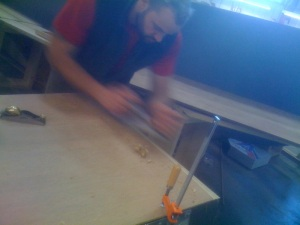 Hand Planing Plywood Scarfs